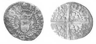 Henry IV Farthing - Light Coinage 1